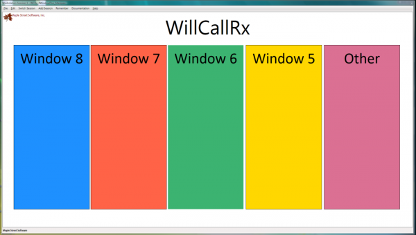 WillCall Rx Attendant Screen