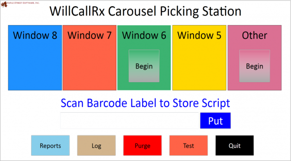 WillCall Rx Pick Station