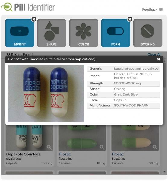Medscape Pill Identifier2