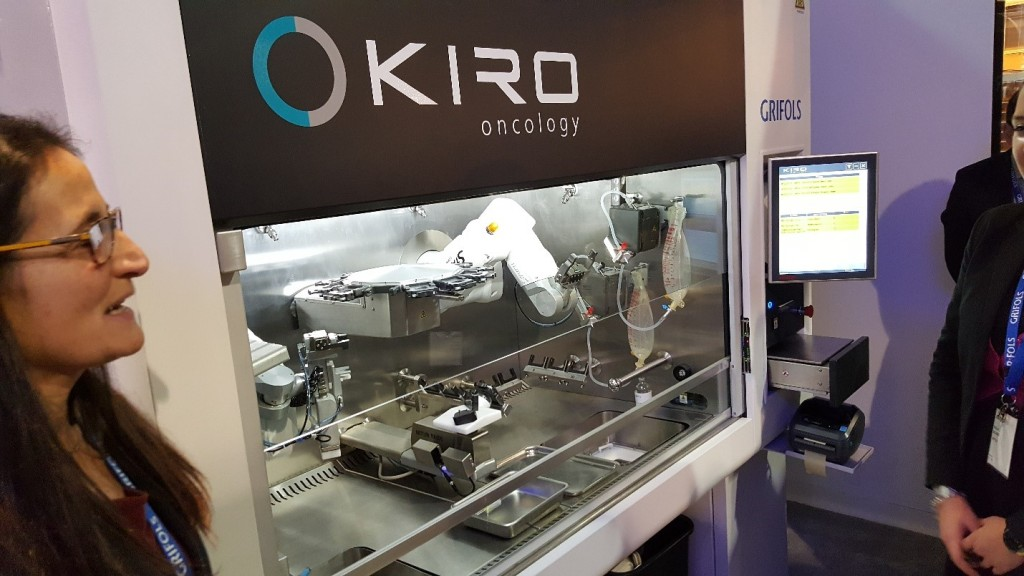 Kiro Oncology robot from Grifols